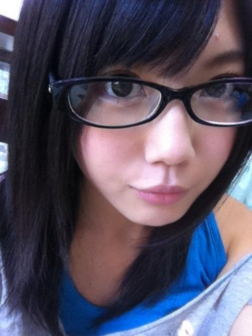 メガネが似合う 眼鏡美女の画像124