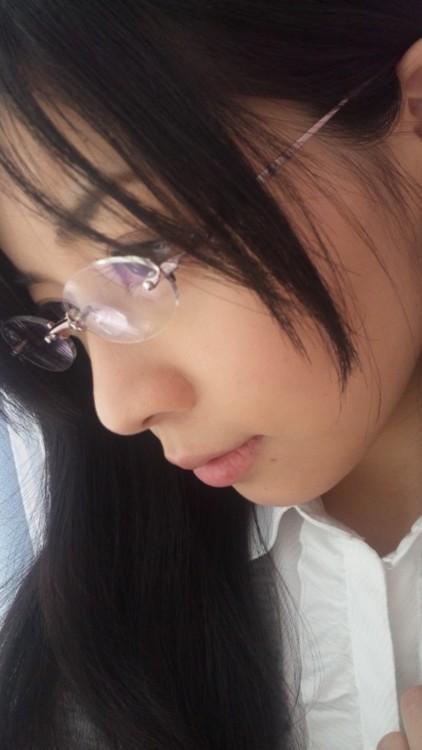 メガネが似合う 眼鏡美女の画像136
