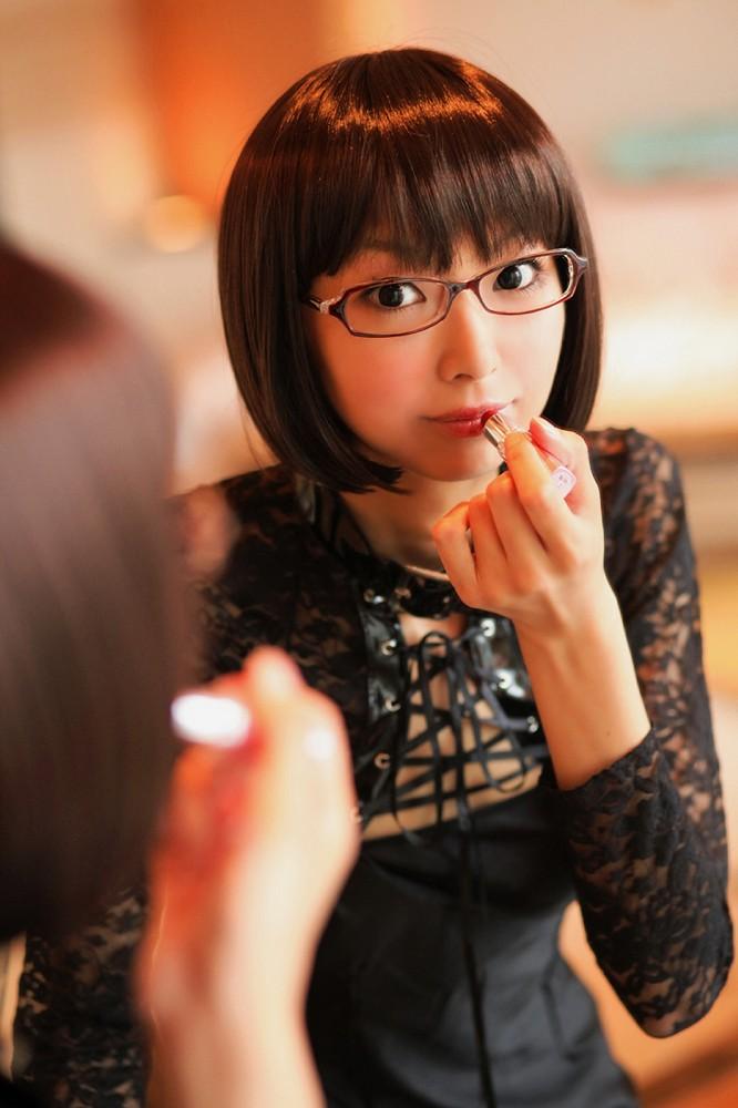メガネが似合う 眼鏡美女の画像14