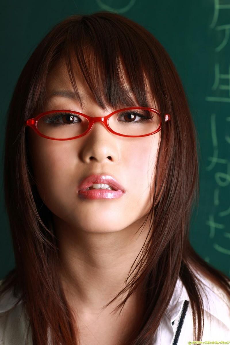 メガネが似合う 眼鏡美女の画像142