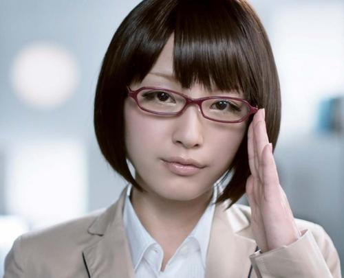 メガネが似合う 眼鏡美女の画像144