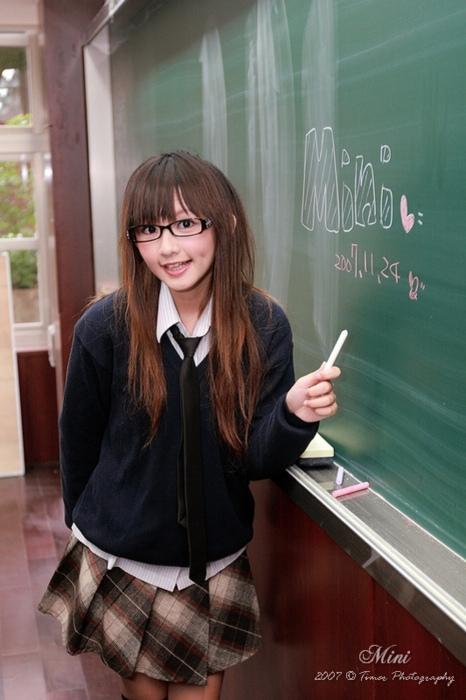 メガネが似合う 眼鏡美女の画像145
