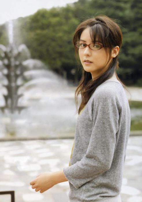 メガネが似合う 眼鏡美女の画像15