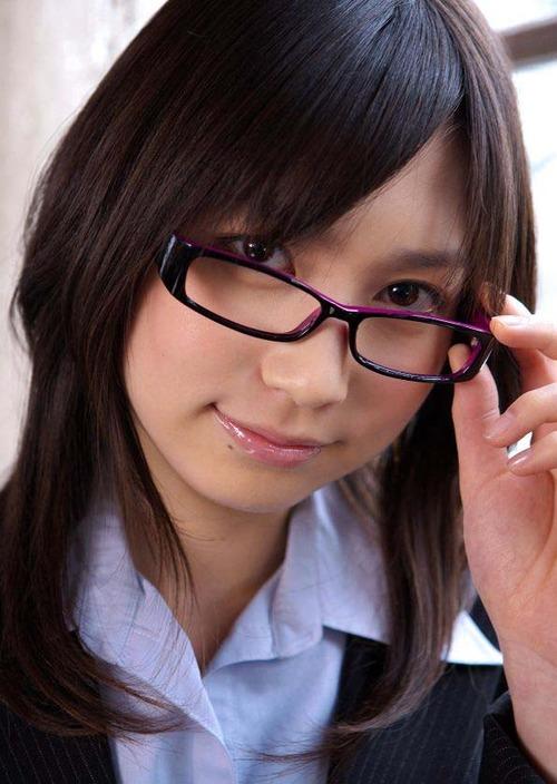 メガネが似合う 眼鏡美女の画像151