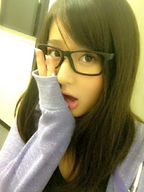 メガネが似合う 眼鏡美女の画像152