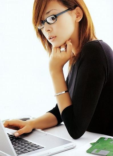 メガネが似合う 眼鏡美女の画像161