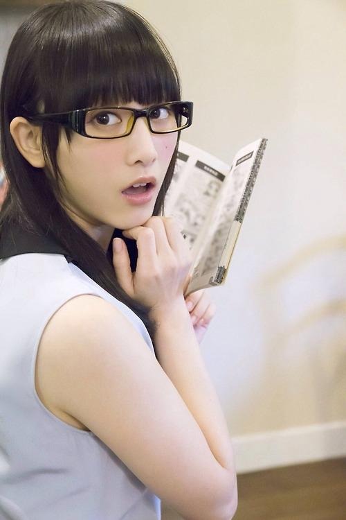 メガネが似合う 眼鏡美女の画像164