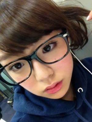 メガネが似合う 眼鏡美女の画像165