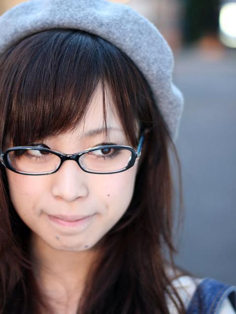メガネが似合う 眼鏡美女の画像168