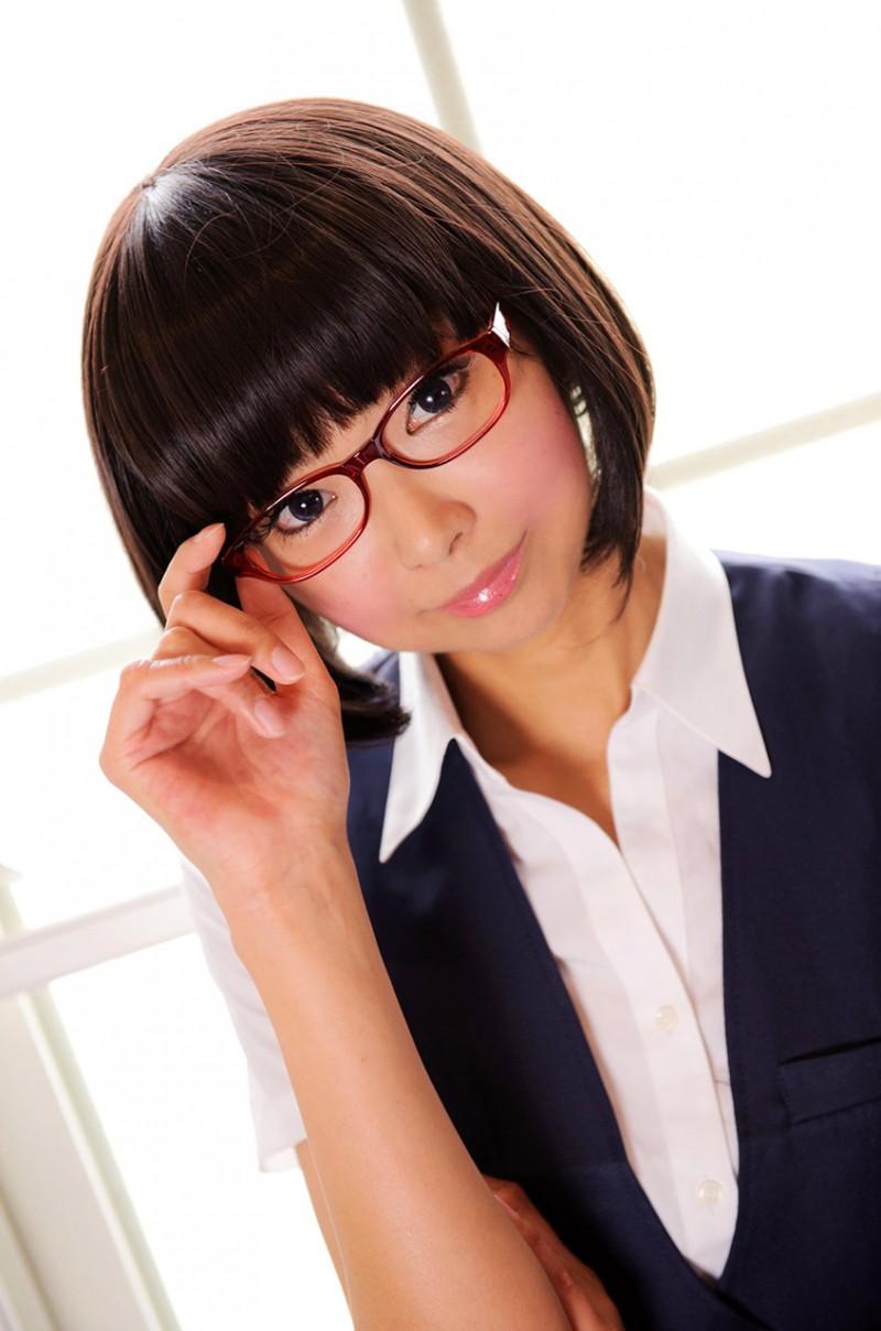メガネが似合う 眼鏡美女の画像170