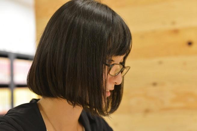メガネが似合う 眼鏡美女の画像171