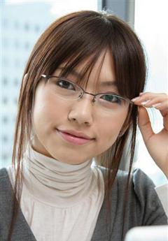 メガネが似合う 眼鏡美女の画像181
