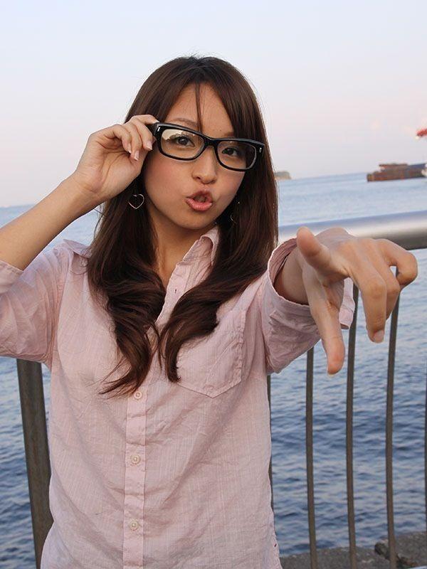 メガネが似合う 眼鏡美女の画像185