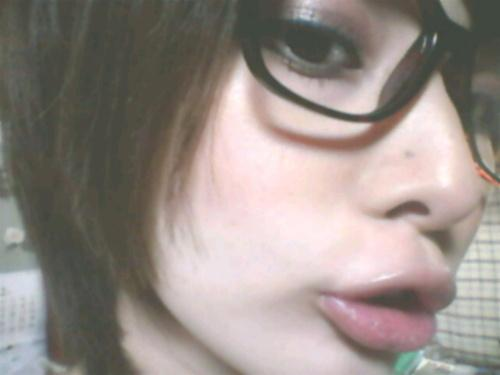 メガネが似合う 眼鏡美女の画像187