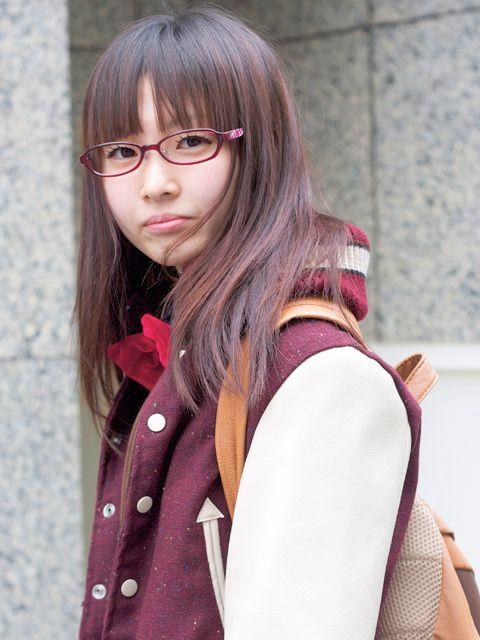 メガネが似合う 眼鏡美女の画像19