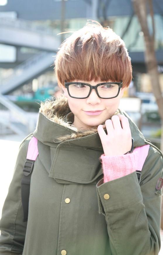 メガネが似合う 眼鏡美女の画像190