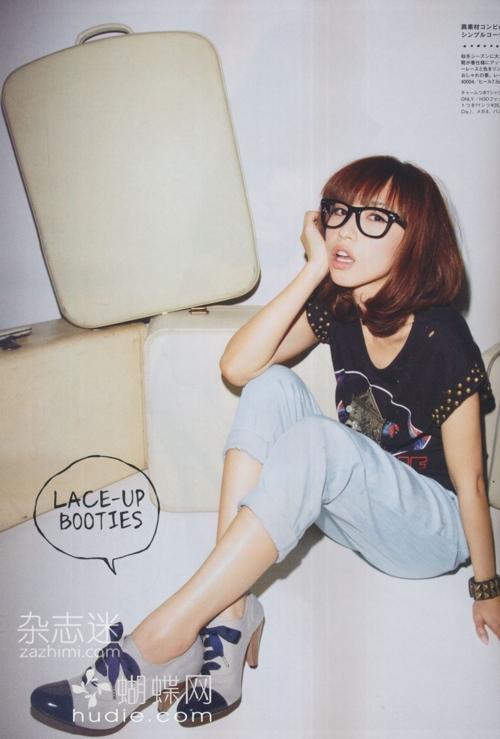メガネが似合う 眼鏡美女の画像22