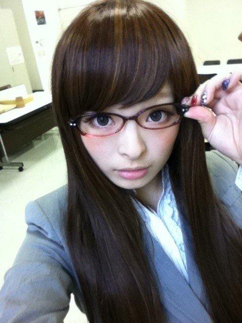 メガネが似合う 眼鏡美女の画像27