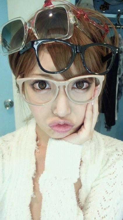 メガネが似合う 眼鏡美女の画像3