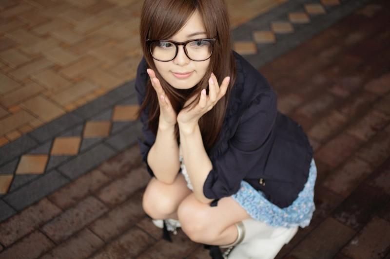 メガネが似合う 眼鏡美女の画像30