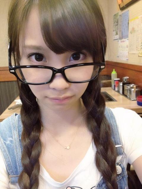メガネが似合う 眼鏡美女の画像36