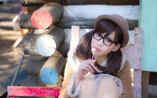 メガネが似合う 眼鏡美女の画像4