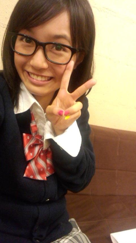メガネが似合う 眼鏡美女の画像45