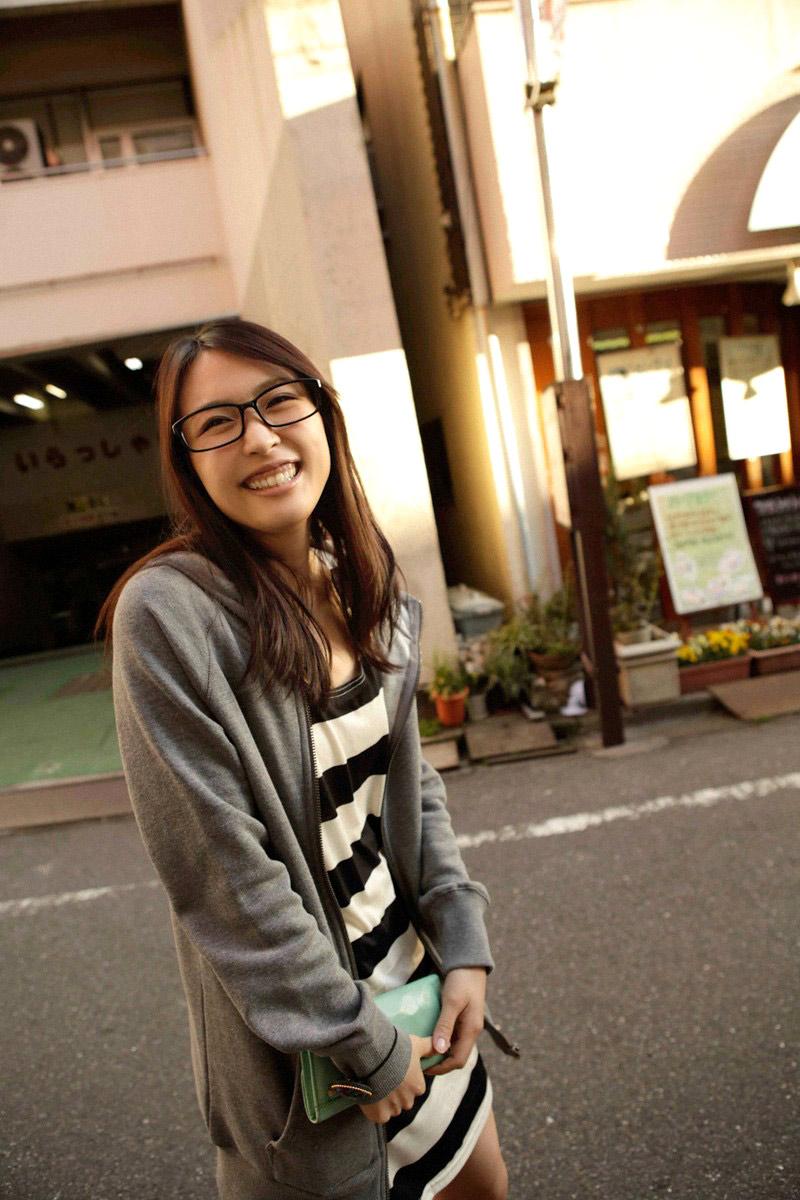 メガネが似合う 眼鏡美女の画像47