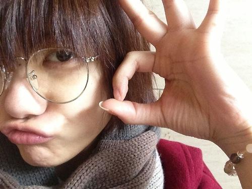 メガネが似合う 眼鏡美女の画像48