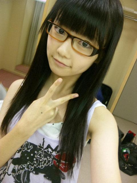 メガネが似合う 眼鏡美女の画像49