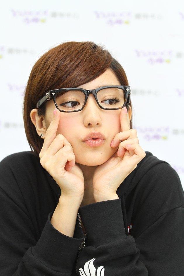 メガネが似合う 眼鏡美女の画像52
