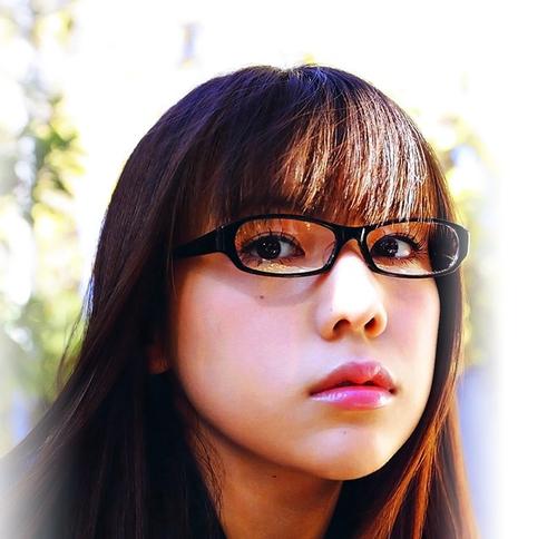 メガネが似合う 眼鏡美女の画像56