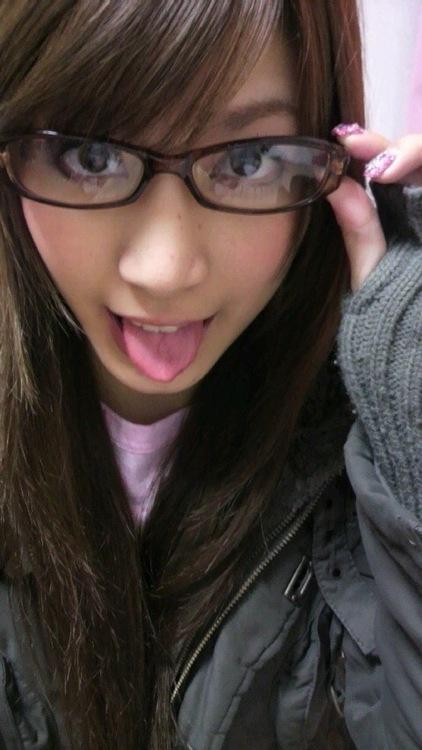 メガネが似合う 眼鏡美女の画像59