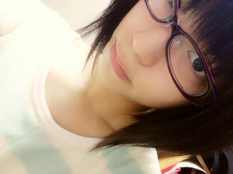 メガネが似合う 眼鏡美女の画像69