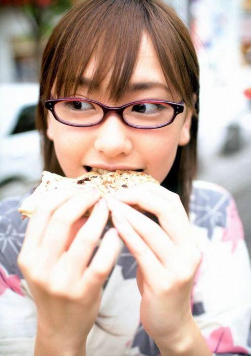 メガネが似合う 眼鏡美女の画像7