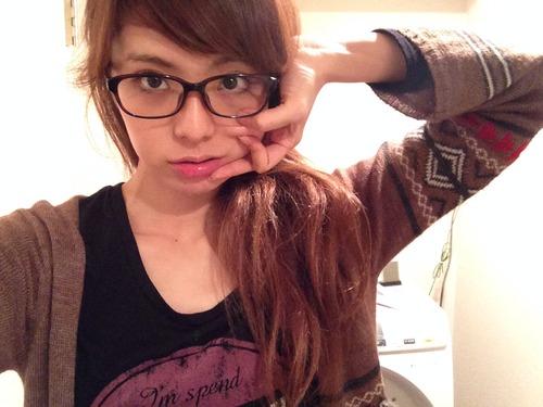 メガネが似合う 眼鏡美女の画像70