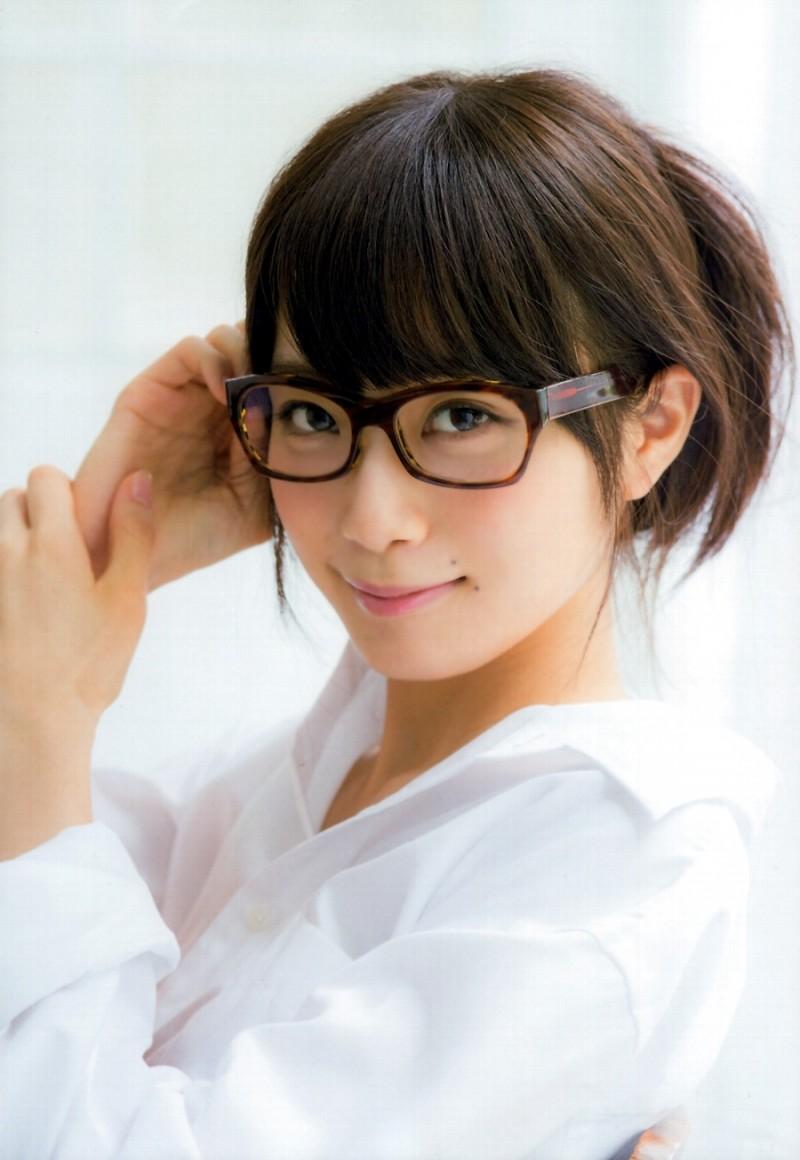 メガネが似合う 眼鏡美女の画像72