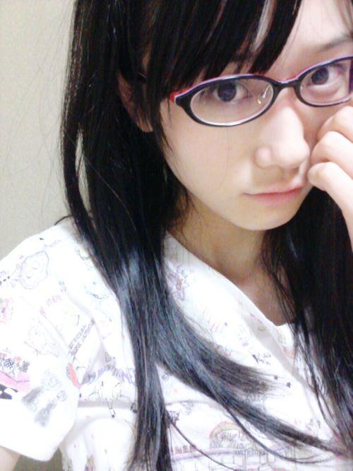 メガネが似合う 眼鏡美女の画像81