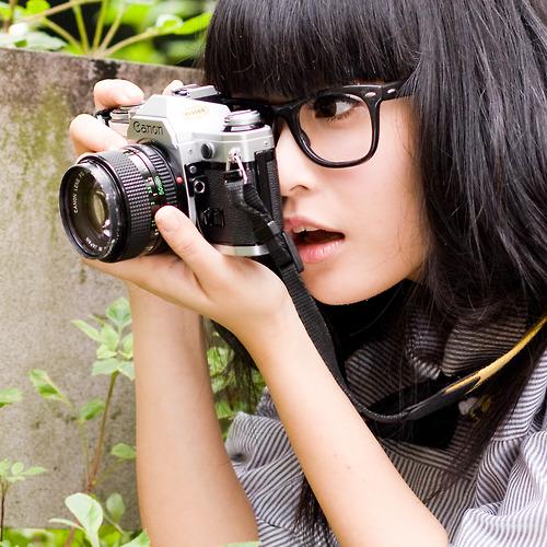 メガネが似合う 眼鏡美女の画像87