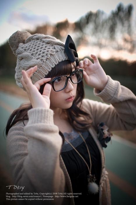 メガネが似合う 眼鏡美女の画像90