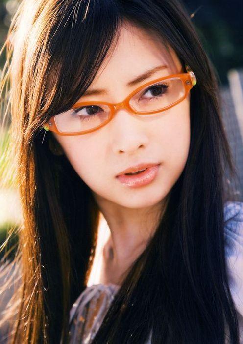 メガネが似合う 眼鏡美女の画像91