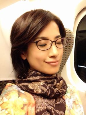 眼鏡をかけた美人女子アナウンサー画像15