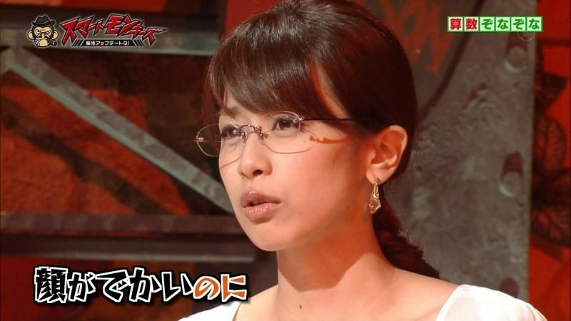 眼鏡をかけた美人女子アナウンサー画像22