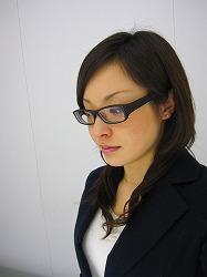 眼鏡をかけた美人女子アナウンサー画像26