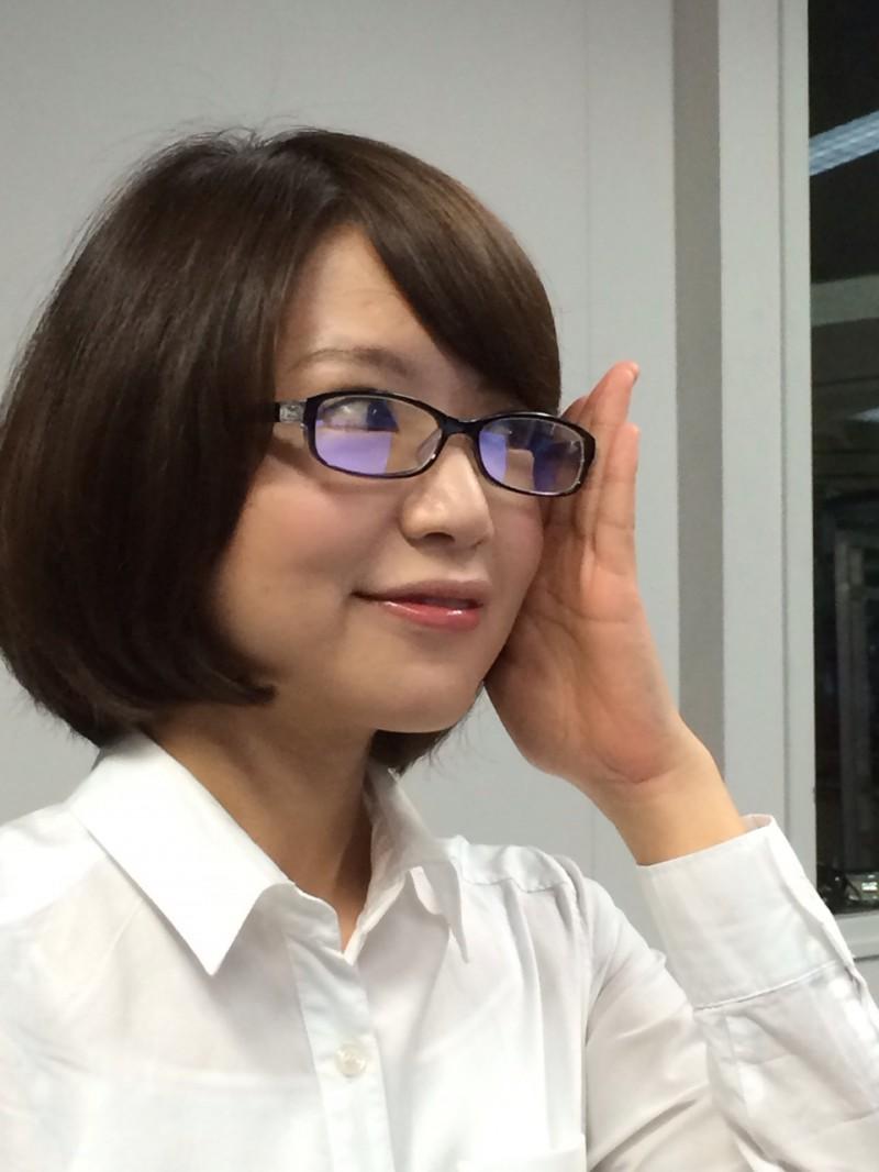 眼鏡をかけた美人女子アナウンサー画像27