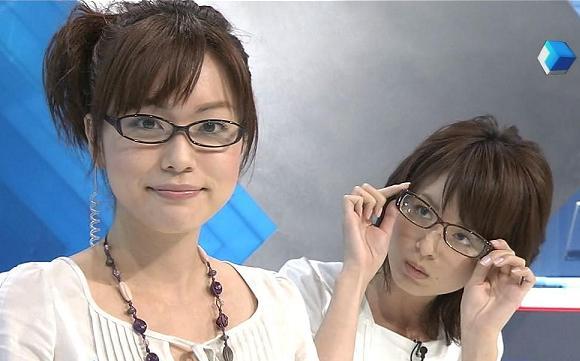 眼鏡をかけた美人女子アナウンサー画像36