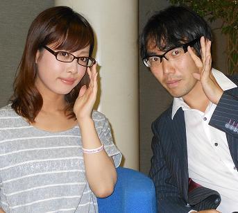 眼鏡をかけた美人女子アナウンサー画像47
