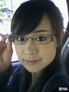 眼鏡をかけた美人女子アナウンサー画像61