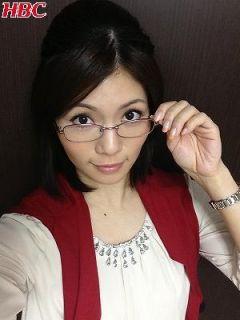 眼鏡をかけた美人女子アナウンサー画像66