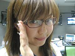 眼鏡をかけた美人女子アナウンサー画像71